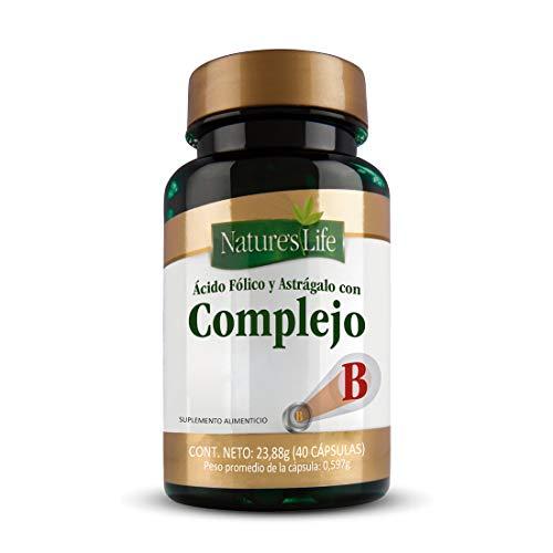 Nature´S Life Complejo B & Acido Folico 40Caps