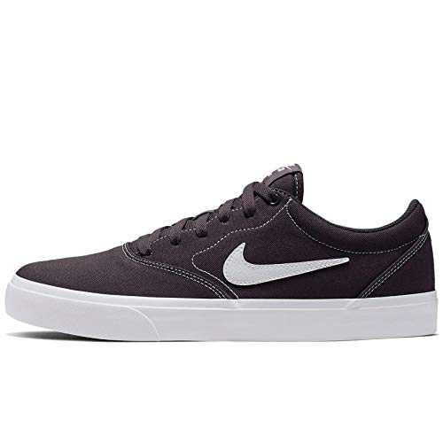 Nike Tenis SB Charge Canvas para Hombre CD6279-005 - Gris Oscuro - 25.5
