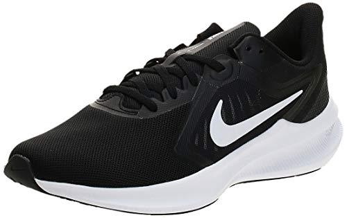 Calzado de running Downshifter 10, Nike, Mujer, Black/White-Anthracite,