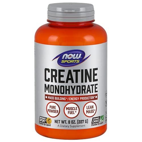 Now foods Creatine Monohidrato en polvo - 8 oz.   Creatine Monohydrate Powder