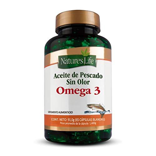 Nature´S Life Omega 3 Aceite Pescado 65 Caps
