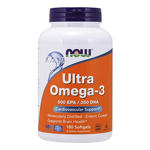 NOW Foods - Ultra Omega-3 500 EPA/250 DHA - 180 Softgels by Now Foods