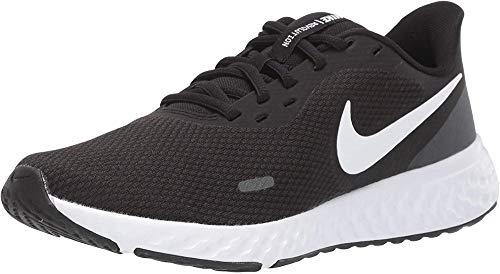 Zapatillas de Correr Revolution 5, Nike, Mujer, Negro (Black/White-Anthracite), 8 US
