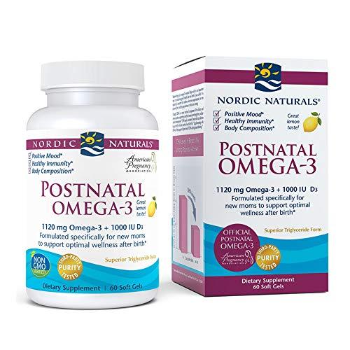 Nordic Naturals Postnatal Omega-3 Concentrated Epa