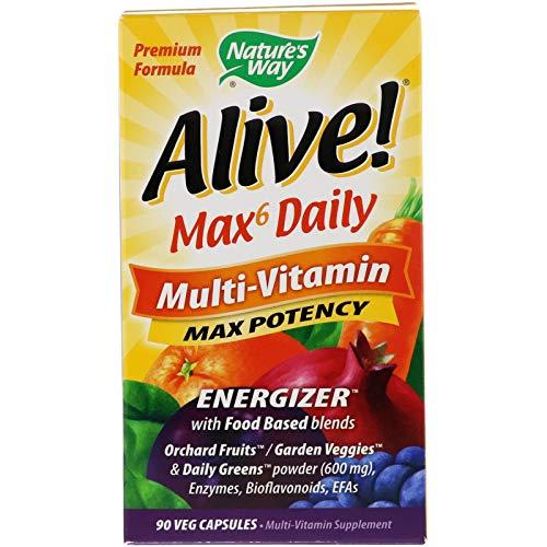 Alive Max6 potencia máxima de vitaminas múltiples diarias