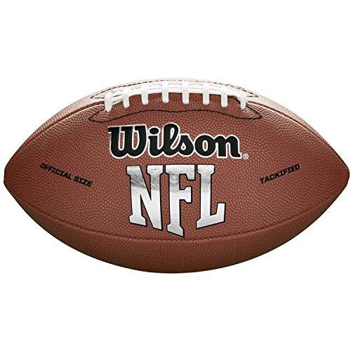 Wilson NFL MVP - Balón de fútbol, Oficial, Marrón, Oficial