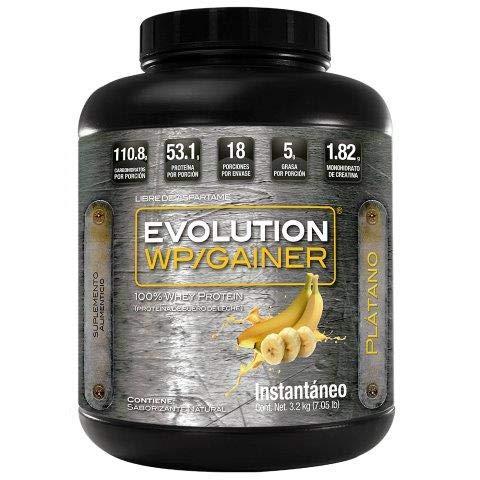 EVOLUTION WP GAINER 3200 GR PLÁTANO