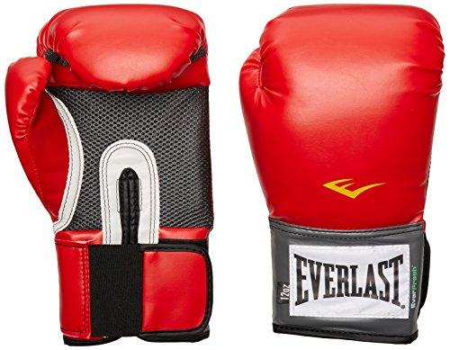 Everlast, Guantes de Entrenamiento Pro Style, Rojo, 16 onzas