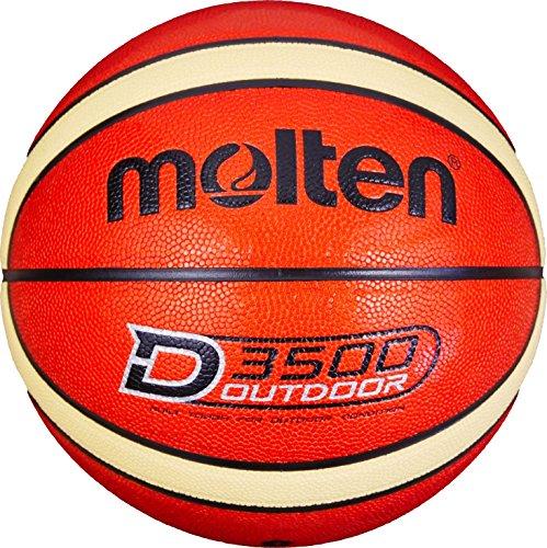 Molten Hombres B7D3500 Baloncesto Naranja, 7
