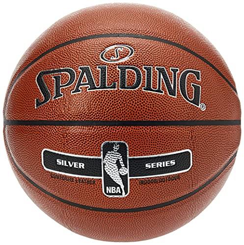 Spalding Basquetbol Balón Silver Serie Composite Indoor/Outdoor, Size 7